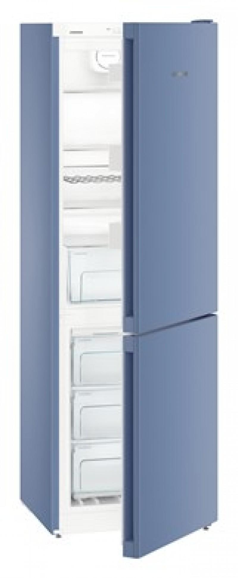 Liebherr Colours Comfort Range - Frozen Blue - Kiwi Green